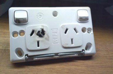 damaged power point