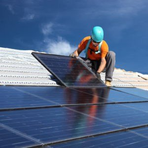 installing solar panels - fuse contracting