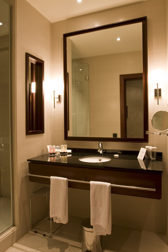 Beautiful bathroom lighting - Fuse Contracting Electricians Brisbane
