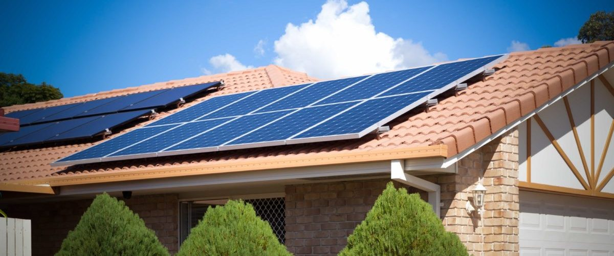 solar panels on roof - Fuse Contracting